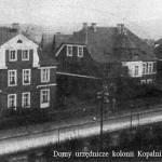 Urzędnicze familoki przy ul. Korfantego.